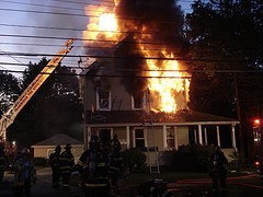 Arson fire in Orange County